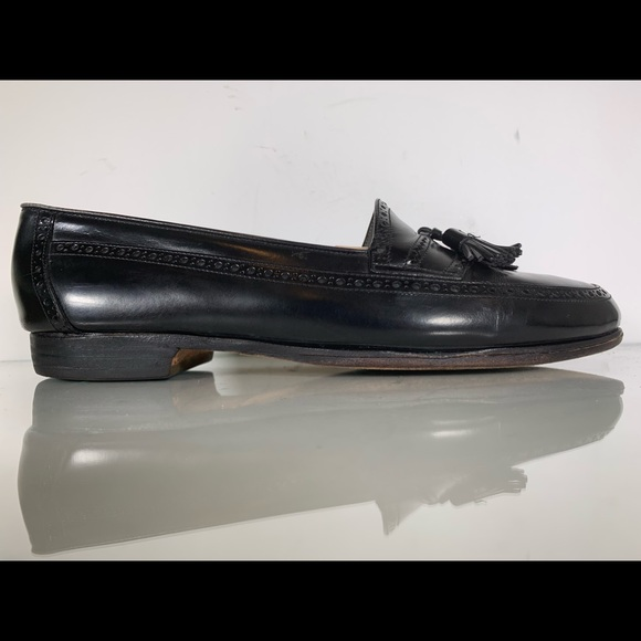 Bally Other - Bally 'David' Black Tassel Loafers Mens Size 9.5 D